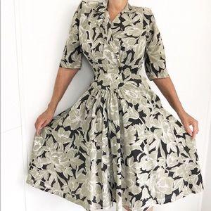 Vintage Shirt Waist Classic Day Dress